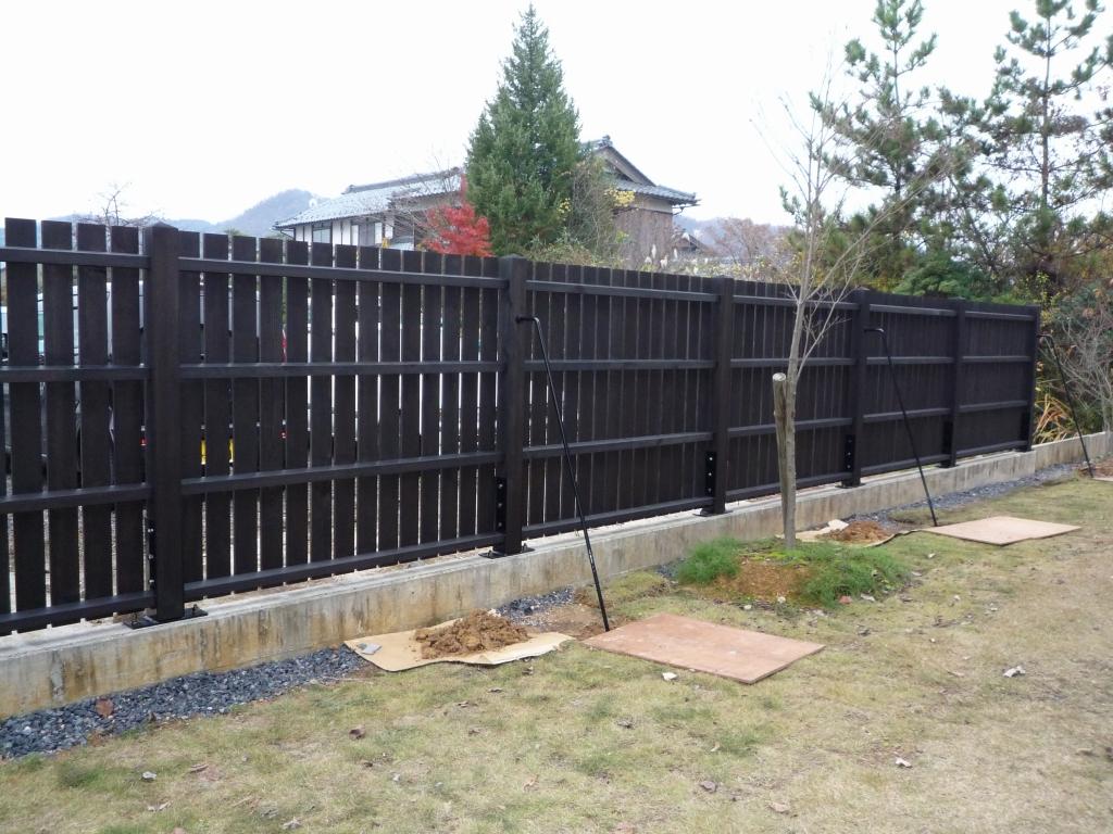 木製フェンス シンプルタイプ