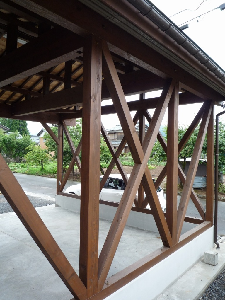 木製車庫 倉庫